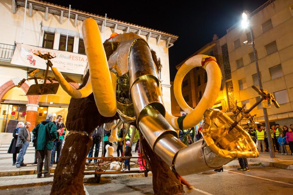 Inauguració de la Festa Major i 30a Mostra Comercial i Agrícola - Festa Major d'Hivern de Sant Vicenç dels Horts 2014