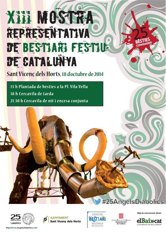 18 octubre 2014 - XIII Mostra Representativa Bestiari Festiu Catalunya - Sant Vicenç dels Horts